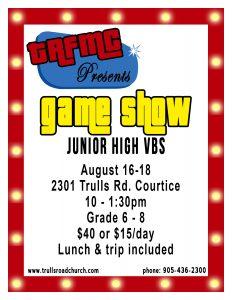 JR High VBS
